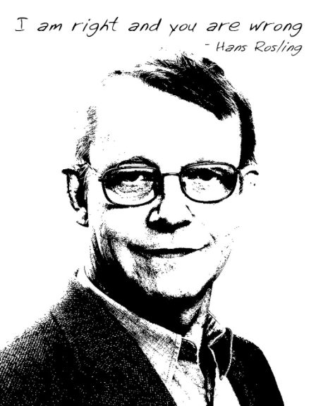 I am right and you are wrong  Hans Rosling